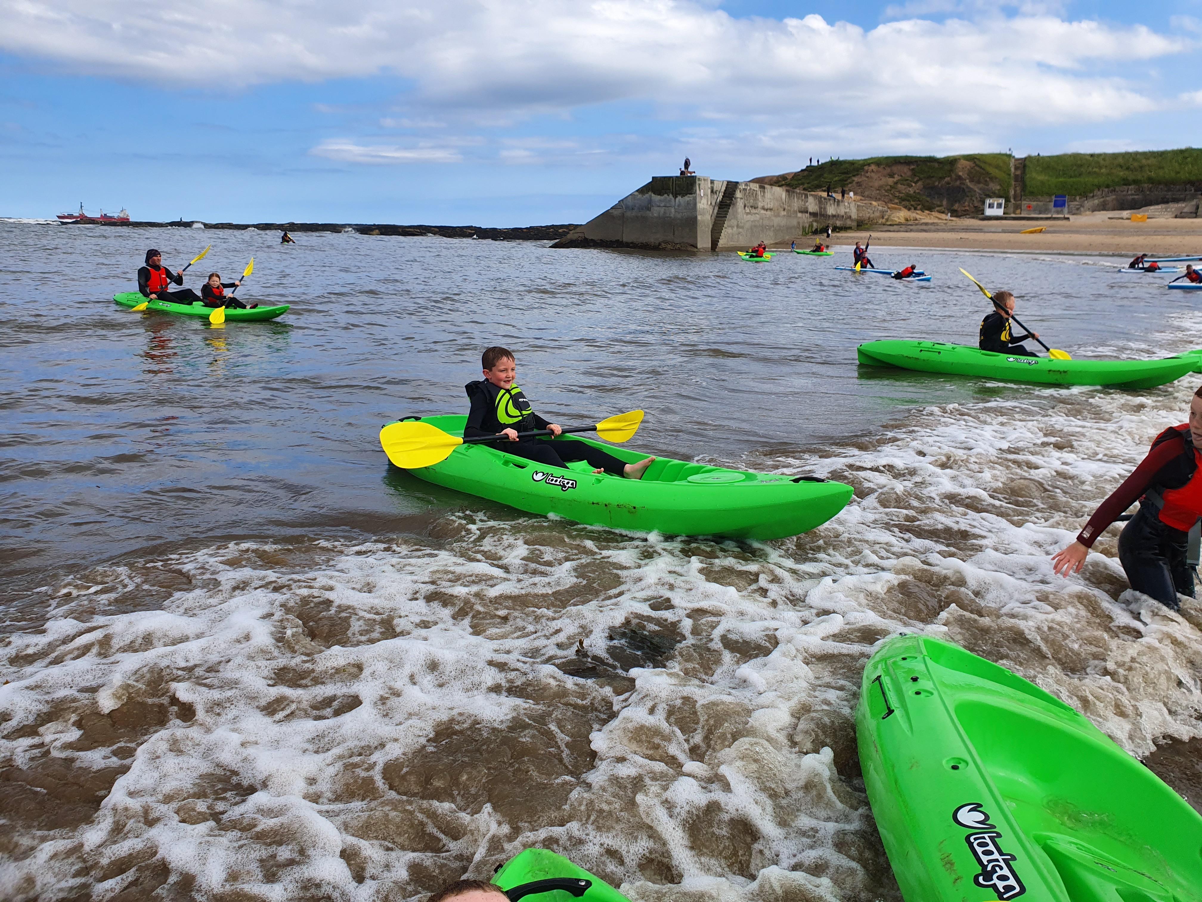 Cub Kayaking – Tynemouth