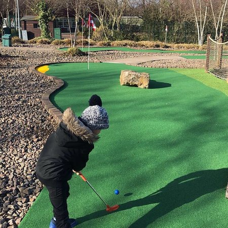 Beaver visit to Mini Golf – Gosforth Park